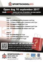 flyer opendag 16 september 2017 voor